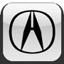 Дефлектор капота для Acura