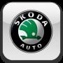 Дефлектор капота для Skoda