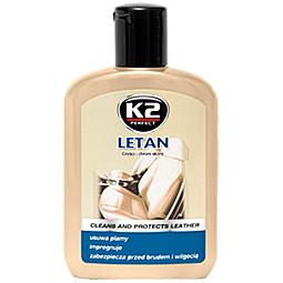 K202 K2 LETAN Очиститель и полироль для кожи, 200мл
