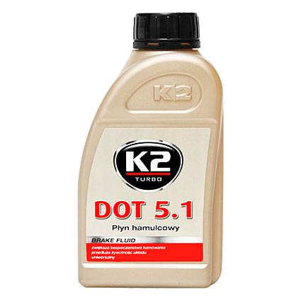 T105 K2 DOT 5.1 Тормозная жидкость, 500мл