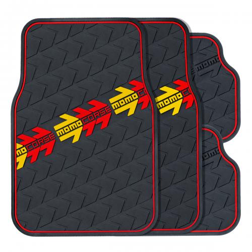 Комплект салонных ковриков MomoCorse  MOMO-504 BK