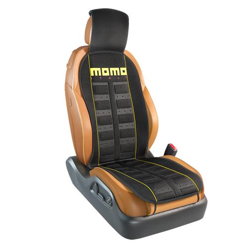 Накидка на сиденье System MOMO-101 BK/YE
