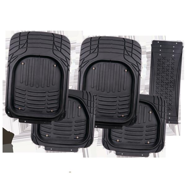 Коврики автомобильные черные  TER-500i BK