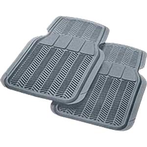Коврики передние в салон автомобиля, 2 шт., серые, «Car/Suv/Track»  арт. 6401 GR