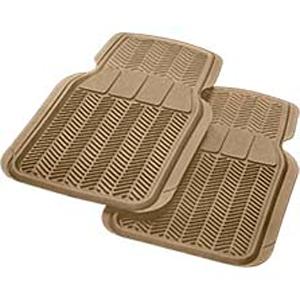 Комплект передних ковриков, синт.резина, бежевые, «Car/Suv/Track» арт. 6401 BE