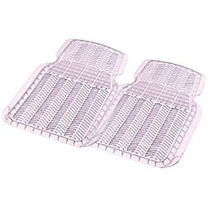 Комплект передних ковриков, ПВХ, прозрачные «Car/Suv/Track» арт. 6401 CL