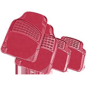Комплект автомобильных ковриков, «PackyPoda», красные 7804 R