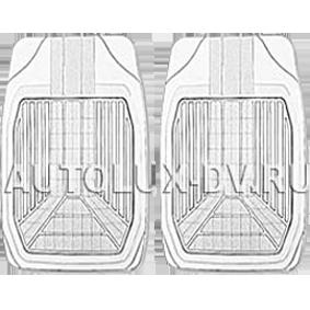 Комплект передних ковриков, «PackyPoda»  прозрачные, ПВХ, арт. 5533 F CL