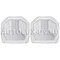 Комплект задних ковриков, прозрачные, ПВХ,  арт. 5533 R CL