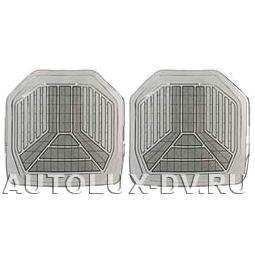 Комплект задних ковриков, дымчатые, ПВХ, арт. 5533 R SM