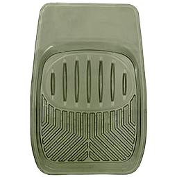 Коврик виниловый передний (дымчатый), ПВХ,  «Skeleton»  арт. 6344-01 SM