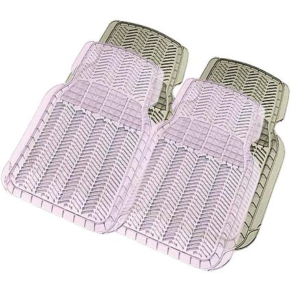 Комплект передних ковриков, 2 шт. дымчатые, «Car/Suv/Track» 6401 SM