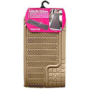 Комплект задних ковриков, синт.резина, бежевые, «Trimmable Ranner»  арт. 6407 BE
