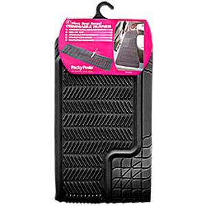 Коврик автомобильный задний, черный, «Trimmable Ranner»  арт. 6407 BK