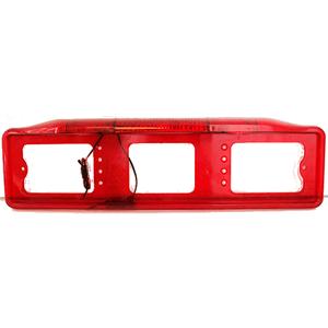Рамка с подсветкой  со стоп -  сигналом,  красная
