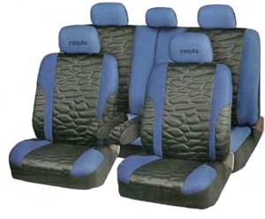 Чехлы TRIAL. Черные с синим. TRL-1105 BK/BL