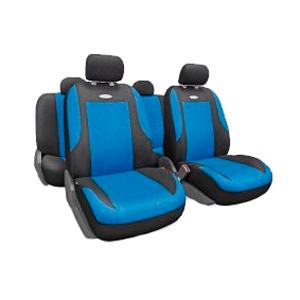 Чехлы EVOLUTION. Синие с черным. EVO-1105 BK/BL
