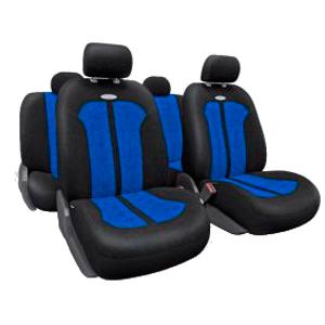 Чехлы SELECTION. Черные с синим. SEL-1105 BK/BL