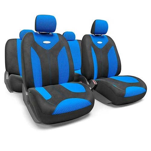 MATRIX чехлы в салон. Черный с синим. MTX-1105 BK/BL (S)