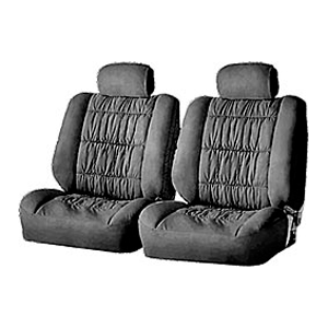 4104-503 BK  Комплект чехлов на задние  сиденья «Luxury», черные
