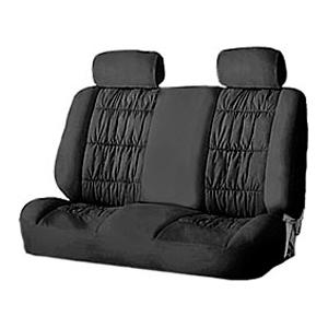 4104-501 BK Комплект чехлов на задние сиденья «Luxury», черные