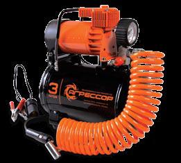 Компрессор автомобильный с ресивером.  AGR-3LT