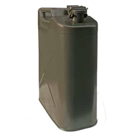 Канистра стальная, верт., зажим, антикорр, 20л,  KAN-200(20L)