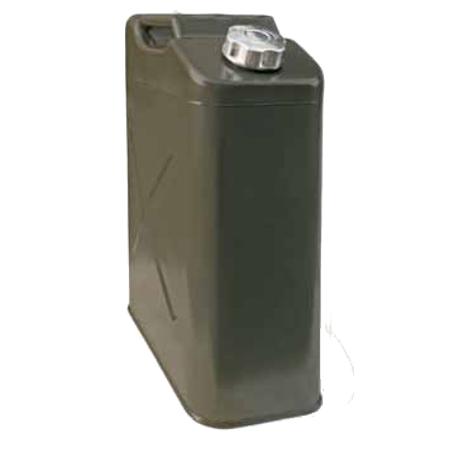 Канистра стальная, верт., навинчив. крышка, оцинк., 20л,  KAN-300(20L)