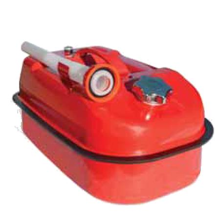 Канистра стальная, гориз., навинчив. крышка, оцинк., 10л, KAN-500(10L)