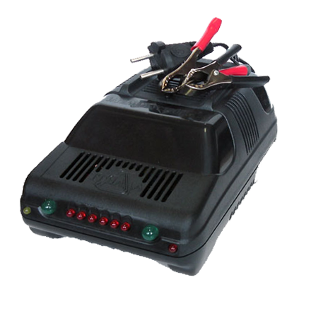 импульсное зарядное устройство для автомобильного аккумулятора - Исскуство схемотехники.