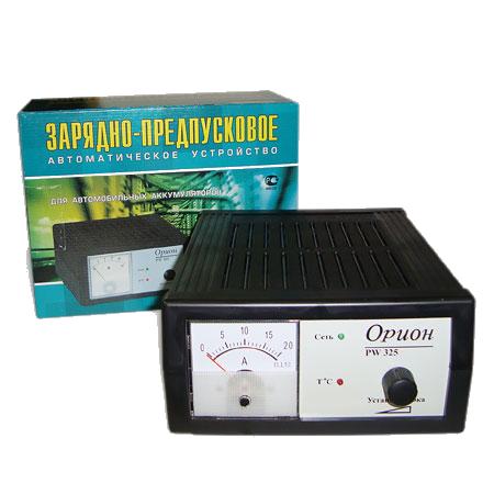 PW325 Зарядное устройство ОРИОН  (0-15A,стрелочный)