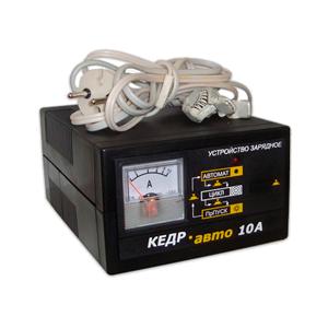 Зарядное устройство для автомобильных аккумуляторов Кедр 10A