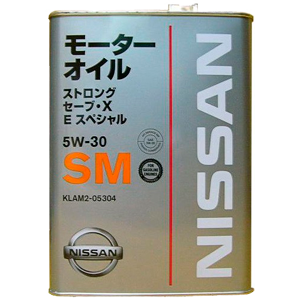NISSAN    Strong Save X E Special SM   5W-30