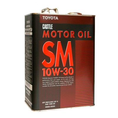 TOYOTA    Motor Oil SM   10W-30