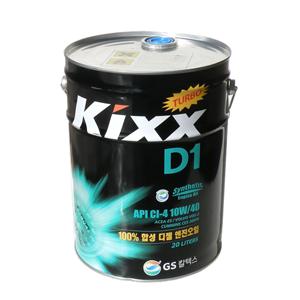 KIXX D-1 CI-4/SL 10W40, синтетика, 20л
