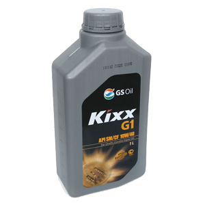 KIXX G1 SN/CF 10W40, масло моторное, VHVI-полусинтетика, 1л