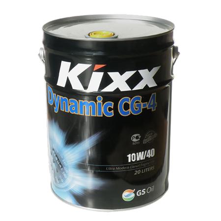 KIXX DYNAMIC CG-4 10W40, полусинтетика, 20л