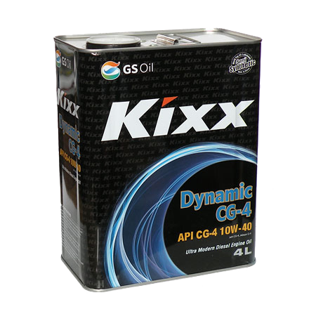 KIXX DYNAMIC CG-4 10W40, полусинтетика, 4 л