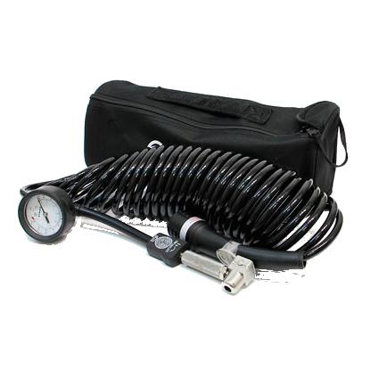 BERKUT NEW DF-029 Армированный шланг- удлинитель с манометром и дефлятором