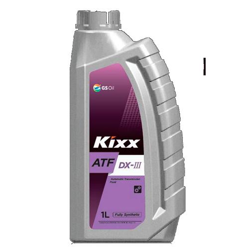 KIXX ATF DX III, жидкость для автомат. КПП,  4л/4