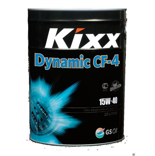 KIXX DYNAMIC CF-4/SG 15W40, масло моторное, полусинтетика, 25л