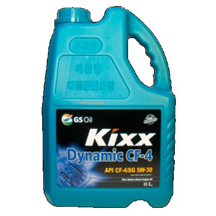 KIXX DYNAMIC CF-4/SG 15W40, масло моторное, полусинтетика,  6л/3