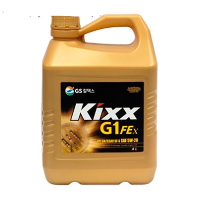 KIXX G1 FEx 5W-20, масло моторное, VHVI-синтетика,  4л/4