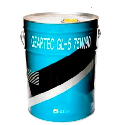 KIXX GEARTEC GL-5 75W90 SINTHETIC BASE, трансмиссионное, 20л