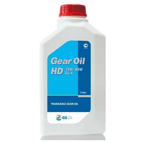KIXX GEAR OIL HD GL-4 75W85W, трансмиссионное,  1л (1-ая залив. в KIA на заводе АВТОТОР)/12