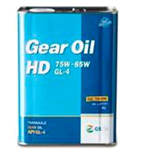 KIXX GEAR OIL HD GL-4 75W85W, трансмиссионное,  4л (1-ая залив. в KIA на заводе АВТОТОР)/4