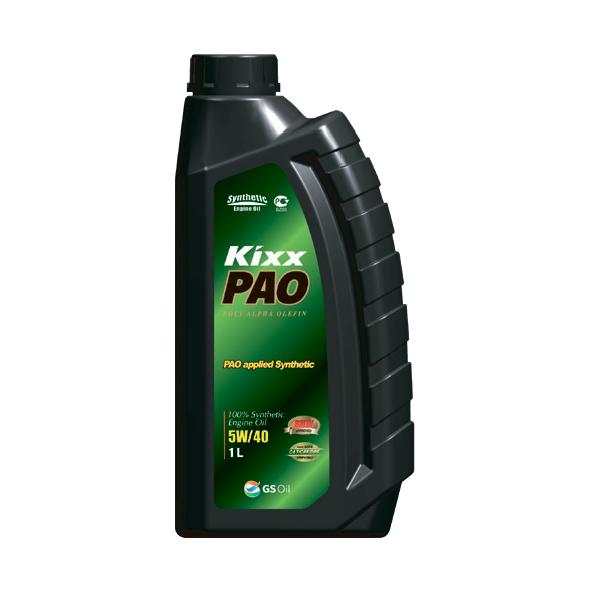 KIXX PAO  SN/CF 5W40, масло моторное, 100 % синтетика,  1л/12