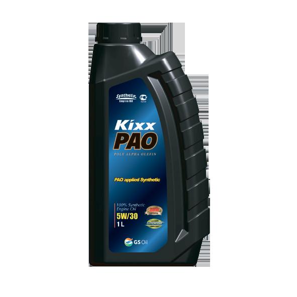 KIXX PAO  SN/CF 5W30, масло моторное, 100 % синтетика,  1л/12