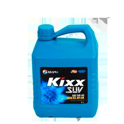 KIXX SUV 5W40, масло моторное, синтетика,  4л/4