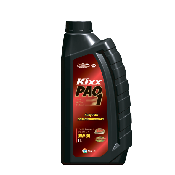KIXX  PAO1 SN 0W30,  масло моторное, 100 % синтетика,  1л/12